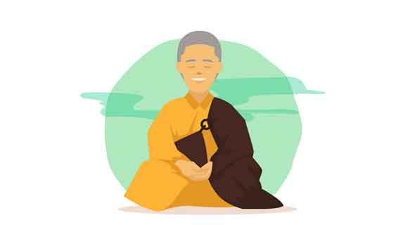 práticas de meditação são para budistas e monges