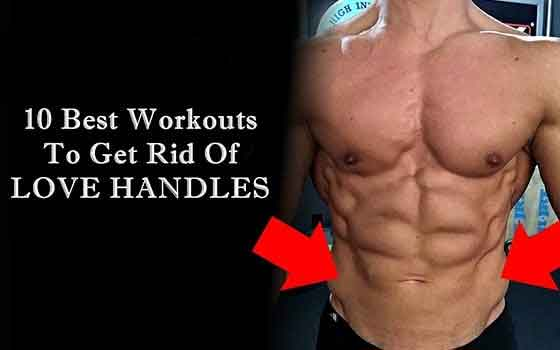How To Get Rid Of Love Handles Love Handle Workout Fitness