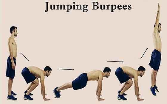 Jump Burpees