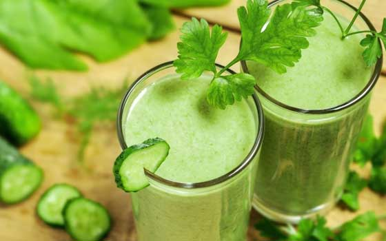 Cucumber Fat Burner Drink