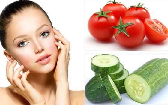 Tomato & Cucumber Facial Mask