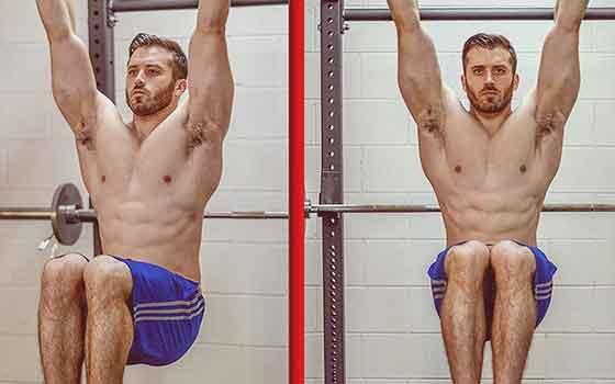 Hanging Knee Rasies