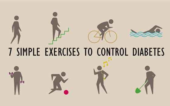 मधुमेह को दूर करने के लिए 7 आसान व्यायाम